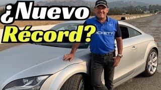 Mi Audi TT: ¿¿¿Nuevo Récord de Pista???   Velocidad Total