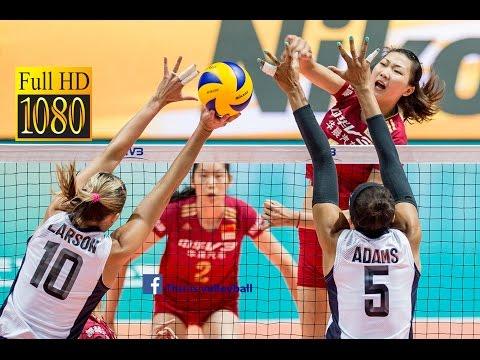 watch USA vs China | 8 July 2016 | Final Round | 2016 FIVB Volleyball World Grand Prix