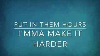 Fifth Harmony - Work From Home (Ft. Ty Dolla $ign) [Lyrics]