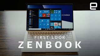 ASUS ZenBook and ZenBook Flip 2018 First Look at IFA 2018