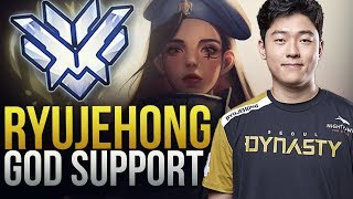 Ryujehong - Legendary Support GOD - Overwatch Montage