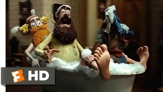 The Pirates! Band of Misfits (3/10) Movie CLIP - Runaway Bathtub (2012) HD