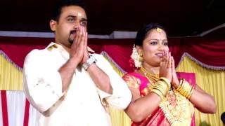 A KERALA NEW STYLE WEDDING HIGHLIGHTS-2016