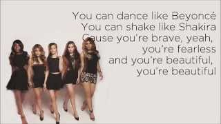 Fifth Harmony - Brave Honest Beautiful (feat.  Meghan Trainor) (Lyrics)
