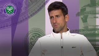Novak Djokovic Wimbledon 2017 quarter-final press conference