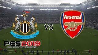 Newcastle vs Arsenal - Premier League 2018/19 Season - PES 2019