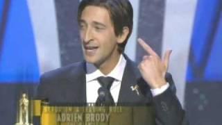 Adrien Brody Wins Best Actor: 2003 Oscars