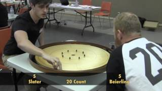 Crokinole 2017 Hamilton Final - Beierling v Slater