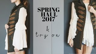 Spring Haul + Try On (Zara, Asos, Earth Brands, H&M, Free People)