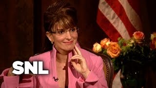 CBS Evening News: Katie Couric Interviews Sarah Palin - SNL