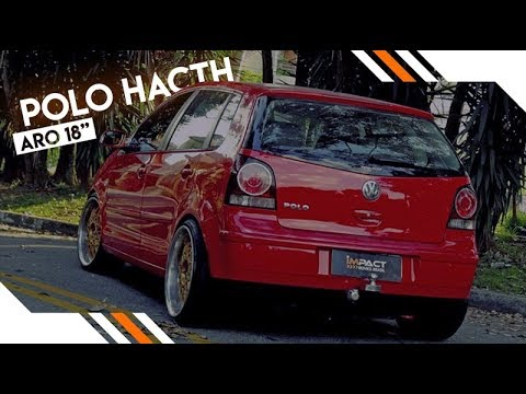 Impact Movies Brasil Polo Hatch Aro 18 Rotiform nas tala 8.5 9.5 Suspensão Fixa