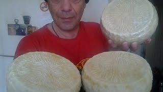 Φτιάχνω τυρί Γραβιέρα - Μυζήθρα #1 Homemade cheese