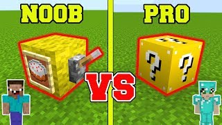 Minecraft: NOOB Vs PRO!!! LUCKY BLOCK In Minecraft!