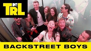 Backstreet Boys Surprise Fans w/ 'I Want It That Way' & 'As Long As You Love Me' Sing-A-Longs   TRL