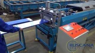 Оборудование для производства трёх типов размеров фасадно-облицовочных панелей