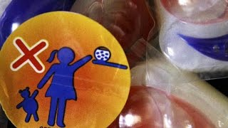 Kids at risk from laundry detergent packets, study shows