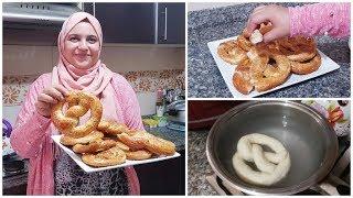 الخبز المسلوق مقرمش و هش من الوسط من الذ واروع ما تدوقت 😍