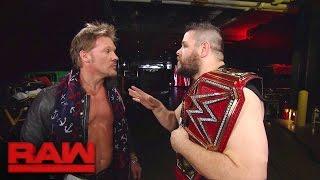 Chris Jericho has had enough of Kevin Owens: Raw, Nov. 28, 2016
