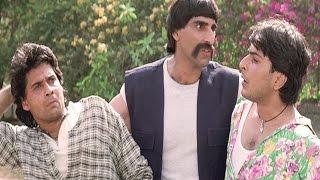 Mukul Dev, Sharad Kapoor, Iski Topi Uske Sar - Action Scene 4/12