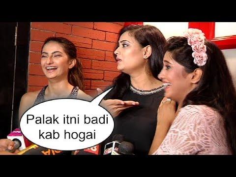Xxx Mp4 Shweta Tiwari With Daughter Palak At Shivangi Joshi Birthday Party 2018 3gp Sex