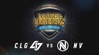 CLG vs. NV - Day 2 Game 4   NA LCS Summer Split Quarterfinals   CLG vs. Team Envy (2017)