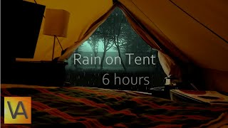 Nature Sounds: Rain on a Tent High Quality (relaxing, sleeping, studying)