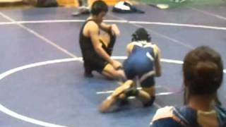 LAURA ROCHA IN JAMES LICK WRESTLING TOURNAMENT