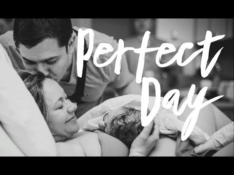 Perfect Day - Liz's Vancouver Birth Story with Dad's Go-Pro