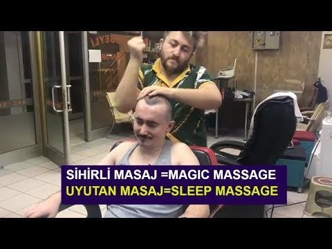 Xxx Mp4 ASMR Turkish Massage Barber NECK CRACK Head Body Arm Face Back Massage Kafa Sırt Kol Masajı İZLE 3gp Sex