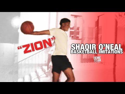 Shaqir O Neal Imitates Kobe Zion LaMelo LeBron Shareef Bol Bol & More