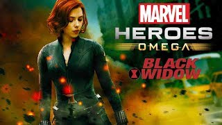 Marvel Heroes Omega BLACK WIDOW Deadly Assassin Live Stream (Xbox One AND Playstation 4)