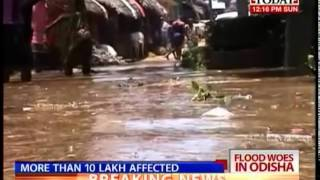 Odisha's flood woes continue as more rains lash deluged state