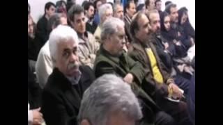 ساز و آواز در حضور اساتید و بزرگان موسیقی ایران درخانه موسیقی  آواز:میثم اکبری سه تار: متین پیمانی