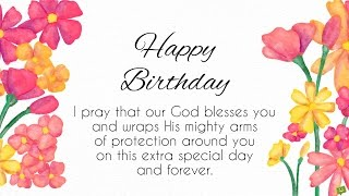 Blessings from the Heart | Happy Birthday Prayers
