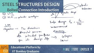 Bolted Connections Introduction | Design of Steel Structures