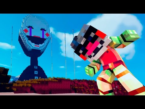 GIGA PUPPET MASTER | Minecraft FNAF vs Superheroes Giant (Five Nights at Freddy's Roleplay)