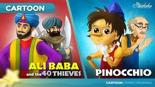 Ali Baba and the 40 Thieves stories for kids cartoon animation