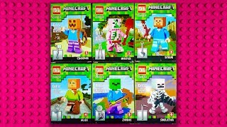 LEGO Minecraft Minifigures (knock-off) PIN BA 0180E