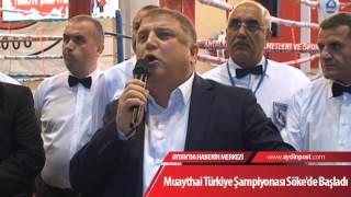 Muaythai Türkiye Şampiyonası Söke'de Başladı