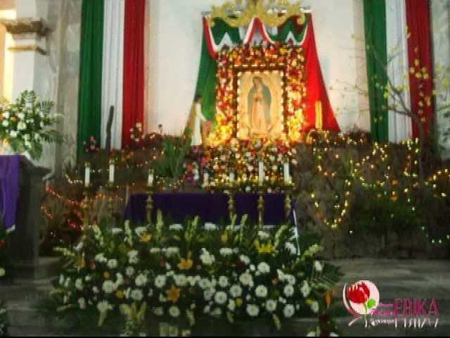 Decoracion Altar Virgen De Guadalupe ~ Preparando el Altar a la Virgen de Guadalupe