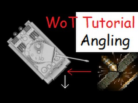 World of Tanks Tutorial #11 - Armour Angling, Side Scraping, Face Hugging - Tips & Trick