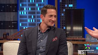 Sasha Roiz and Nicholas D'Agosto on Noches con Platanito