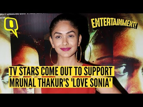 Xxx Mp4 TV Stars Come Out To Support Mrunal Thakur In 'Love Sonia' 3gp Sex