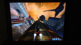 F-Zero GX: Port Town: Cylinder Wave with HARD BANGER on 2'04