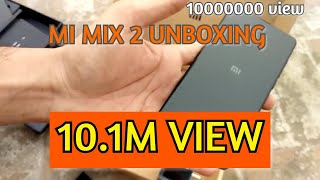 MI Mix 2 Unboxing Punjab india 36000 price
