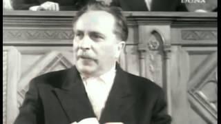 Felmegyek a miniszterhez - Balogh Bódog (Páger Antal) beszéde - vágatlan