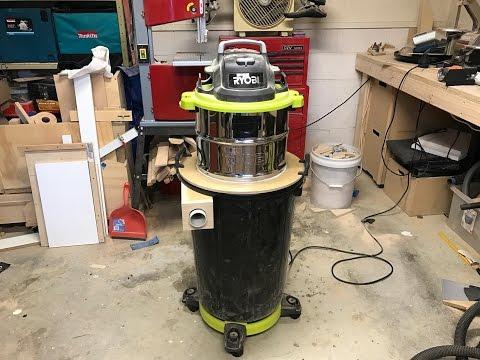 Cyclone Dust Separator Shop Vac Hack