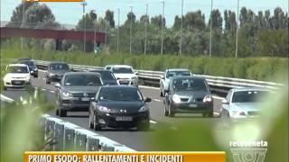 PADOVA TG - 01/08/2015 - TRAFFICO: POCHI DISAGI NEL PRIMO SABATO DI AGOSTO