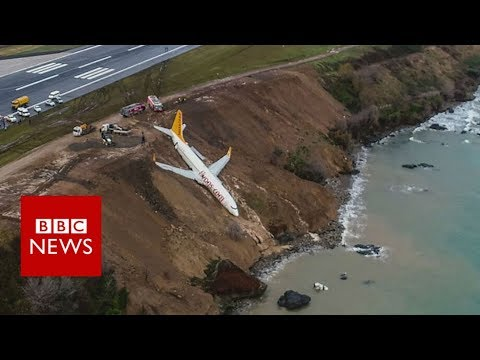 Xxx Mp4 Plane Skids Off Runway At Trabzon Airport In Turkey BBC News 3gp Sex