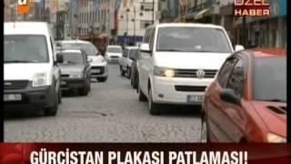 Gürcistan Plakası Patlaması Haber: Neşe Yelken  Kamera: Ali Güney